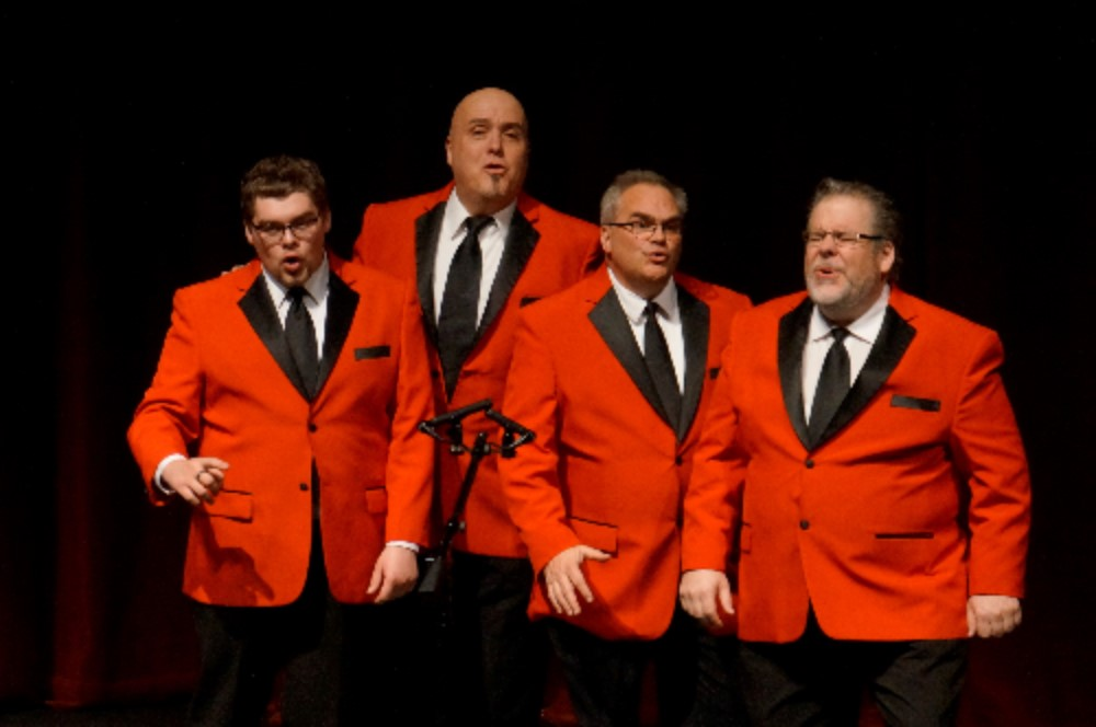 Results of the 72nd All-Northwest Barbershop Quartet (Ballad Town USA) Contest